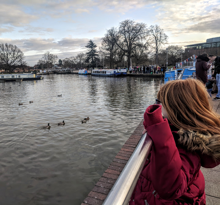 A Quick Guide to Visiting Stratford-Upon-Avon with Kids (on a budget)  - canal walk