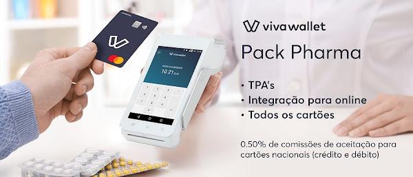 Viva Wallet lança solução de pagamentos para farmácias