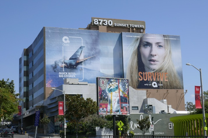 Giant Survive series premiere billboard