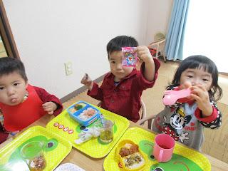 子ども達のお弁当