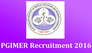 PGIMER Chandigarh Recruitment 2016-17