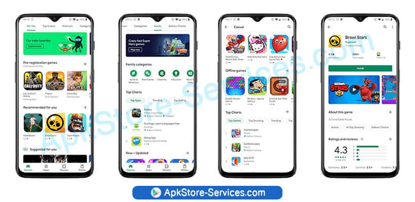 تنزيل متجر Play على الهاتف سامسونج - Google Play Store 18.7.24 APK أخر إصدار