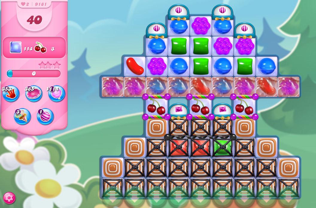Candy Crush Saga level 9181