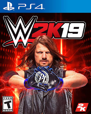 Wwe 2k19 Game Cover Ps4 Standard
