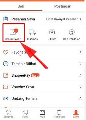 Bagaimana Cara Melihat Kode Pembayaran Shopee Yang Lupa
