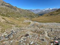 Trail 518 Valle di Sobretta heading northeast.