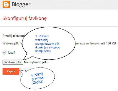 Dodawanie ikony favicon w nowym układzie Bloggera.