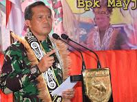 Pangdam XVIII Kasuari : Kita Harus Bersama-sama Membangun Tanah Papua Ini dengan Penuh Kedamaian