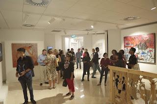 pameran lukisan loca institute di erasmus huis