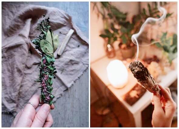 palos florales de humo, incienso natural