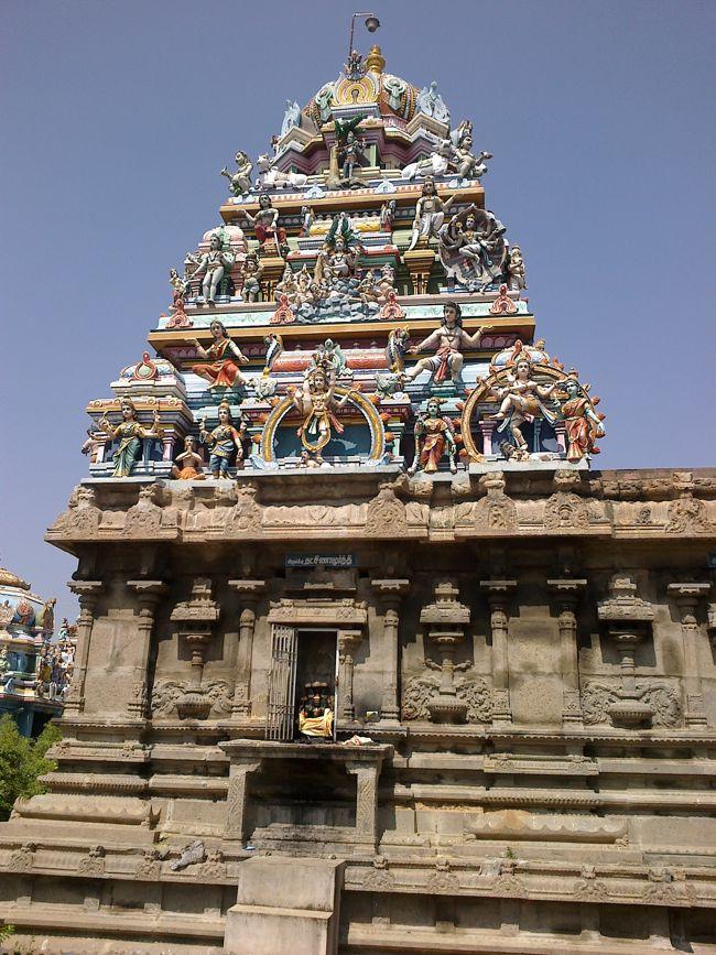 Vimanam Of Main Deity Sri Singeeswarar