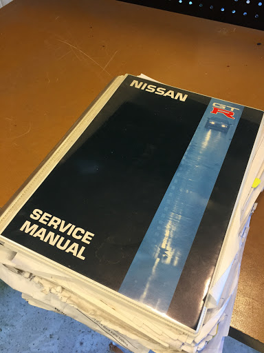 R32 GT-R Service Manual from Australia