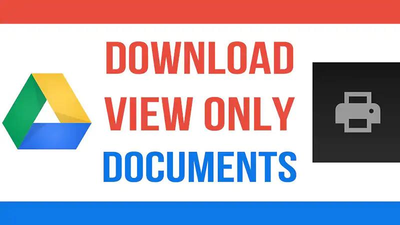 Cara Download Pdf Di Google Drive Yang Diproteksi View Only Bli Komang