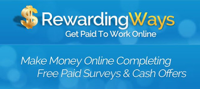 """Review trang kiếm tiền khảo sát nước ngoài: """"Rewardingways"""""""