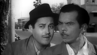 Guru Dutt And Johnny Walker