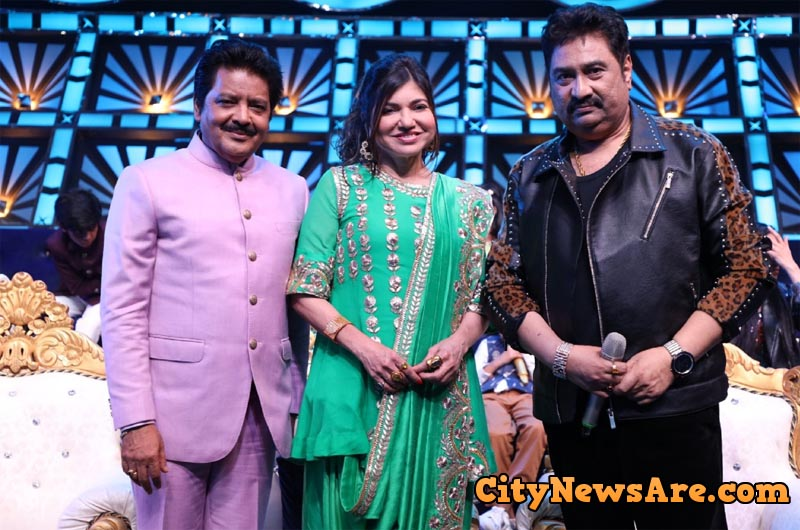 90's Iconic Legendary Singers Alka, Udit and Kumar Sanu