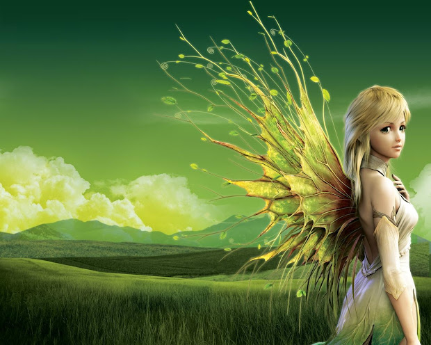 Thought Beautiful With Fairies