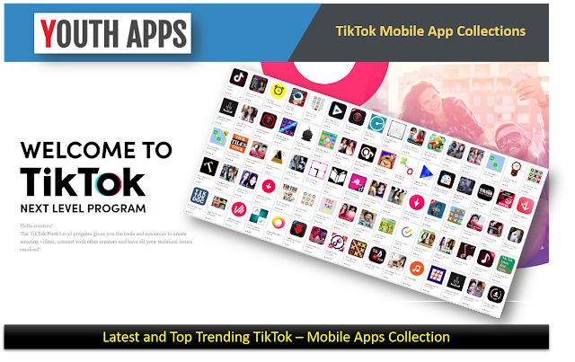 TikTok Latest Mobile Apps Collection