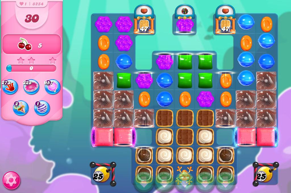 Candy Crush Saga level 8254