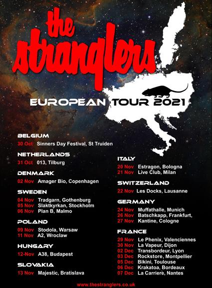 EUROPEAN TOUR WINTER 2021