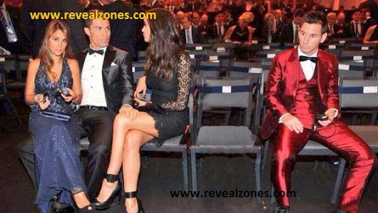 Photo Of The Day: Lionel Messi's Wife Left Him For C.ronaldo After He Lost World Best!