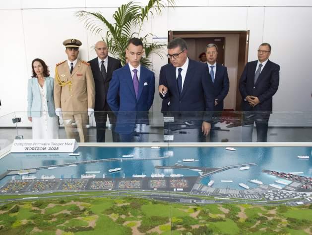 Inauguration de Tanger Med II par le prince Moulay El Hassan positionne Tanger Med comme le plus grand de toute la Méditerranée