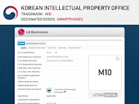 LG registers the name M10 for a new alignment, V60 and V70 also