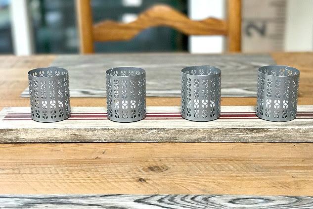 Repurposed Tea Light Candle Holders