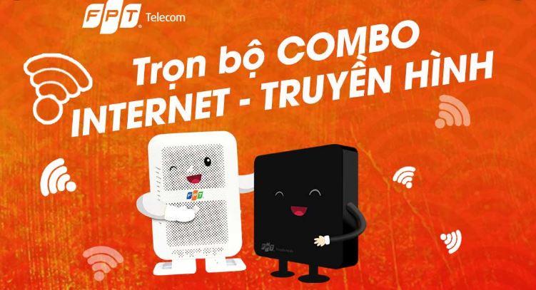 Dịch vụ trọn gói Internet + Truyền hình An Giang