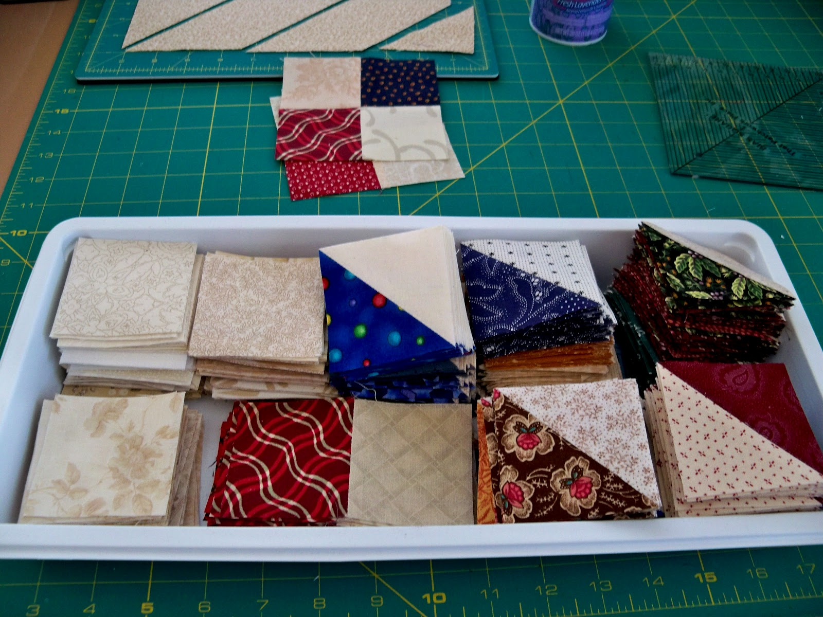 Quilts And Other Good Things Half Square Triangle