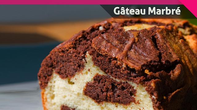 Cake marbré facile et rapide