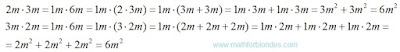 Multiplication substitution by addition. Mathematics For Blondes.