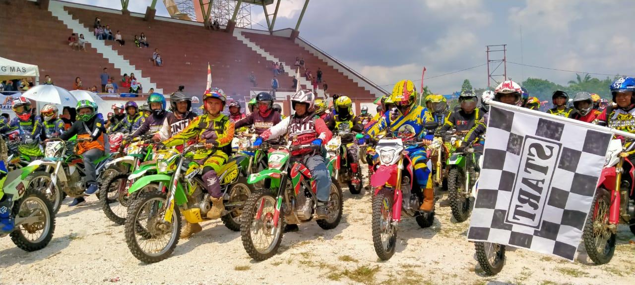 """Ratusan Raider Ikuti Trail Aventure """"Nukat Sakalepah ke-3"""" di Gumas"""