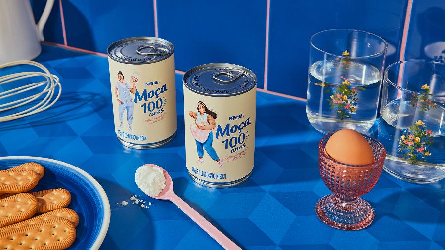 Nestlé apresenta as latas comemorativas dos 100 anos do Leite Moça no Brasil