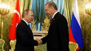 أردوغان: بحثنا تطورات الأوضاع في إدلب مع بوتين