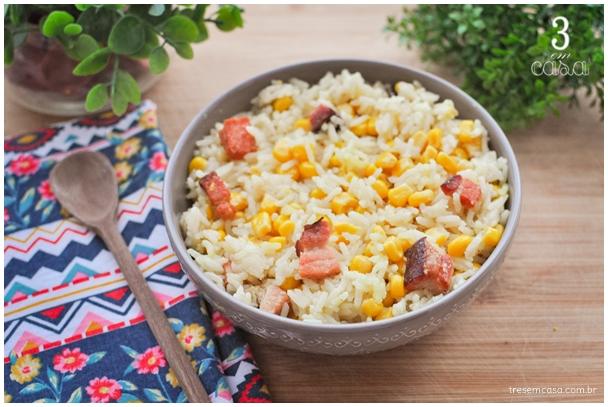 receita de arroz da roça