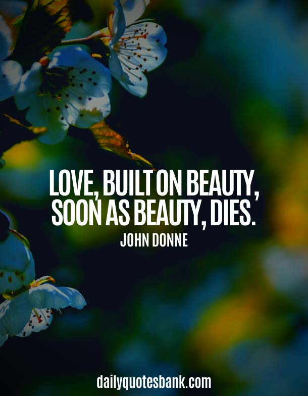 Being Simple Beauty Quotes About Love