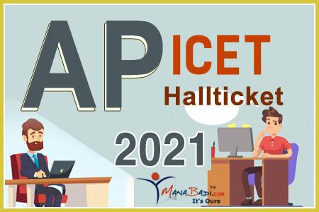 AP ICET Halltickets 2021