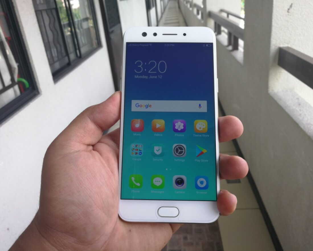 OPPO F3 Front