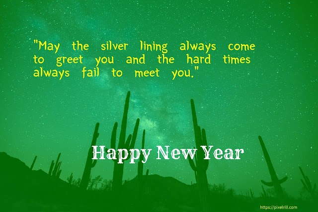 Greetings for New Year 2020