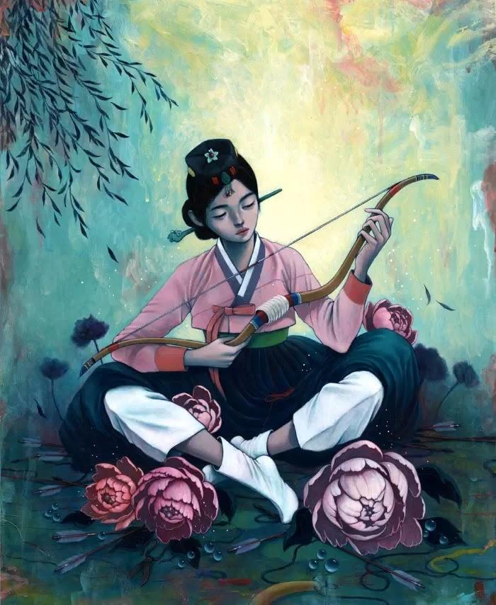 Корейский художник и иллюстратор
