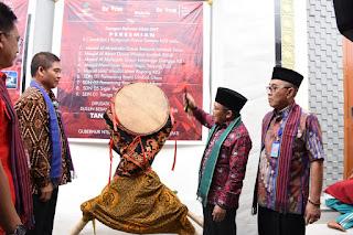 Bupati Lombok Utara Hadiri Peresmian Bangunan Bantuan Pemirsa tvOne