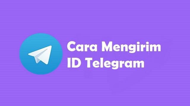 Cara Mengirim ID Telegram