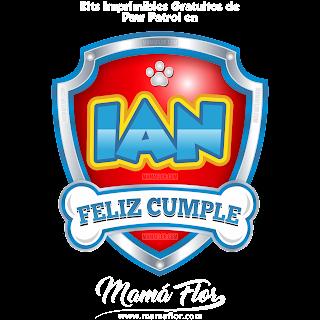 Logo de Paw Patrol: IAN