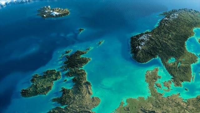 Aparecen restos de civilización de 10 000 años en mar del Norte