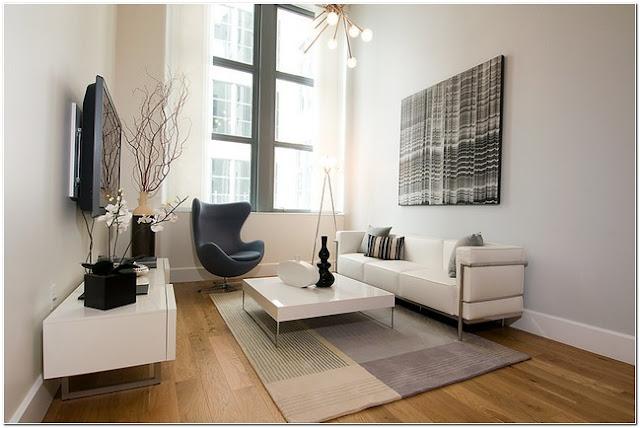 10 Ide ruang tamu minimalis dan keren