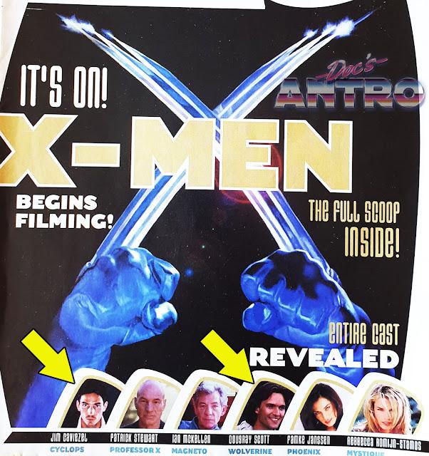 X-Men 2000 primo cast altro Wolverine e Caviezel Ciclope