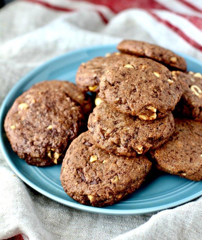Peanut Brownie Sablés Recipe