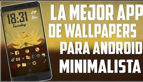 La Mejor Aplicación De Wallpaper Material Design / ANIME / CÓMICS / PELÍCULAS / SERIES