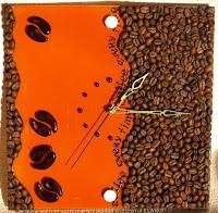 Кофейные часы: идеи оформления